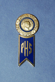 Paul Harris Fellow Pin And Society Hanger