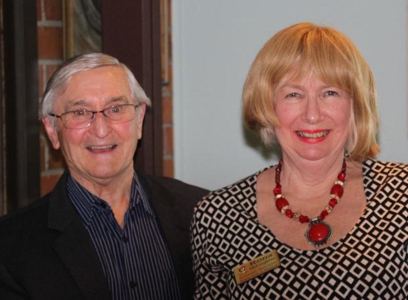 Alan flint and Rona mclaughlan