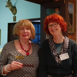 Avril Lunken Lymphedema Occupational Therapist & Rona McLaughlan