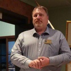 Greg Paull from Diamond Creek rotary