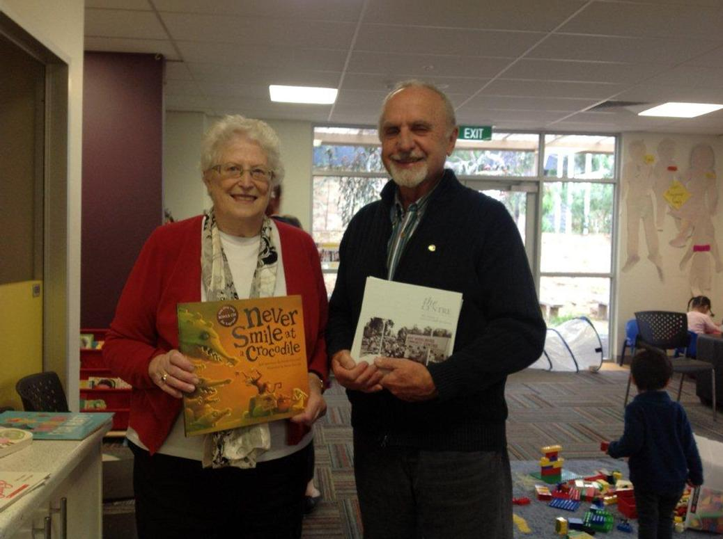 books for babies at rosanna rotary club