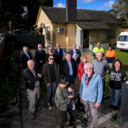 community rallies to house homeless in heidelberg west