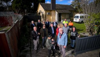 community rallies to house homeless in heidelberg west